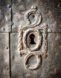 Gammal keyhole royaltyfri bild