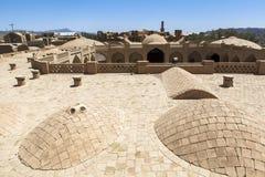 Gammal Kharanagh by i Yazd, Iran Royaltyfria Foton