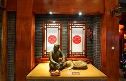 Gammal kinesisk kvinna Royaltyfria Bilder