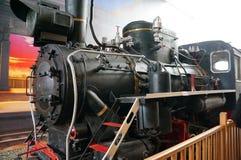 Gammal kinesisk lokomotiv arkivfoto
