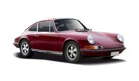 Gammal klassisk bil Porsche 911 Arkivbilder
