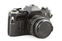 Gammal klassisk filmkamera Fotografering för Bildbyråer