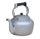 gammal klassisk smutsig kettle arkivbilder