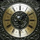 gammal klocka, arkivfoto