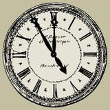 gammal klocka vektor illustrationer