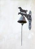 gammal klockadörr Royaltyfri Bild
