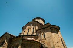 Gammal kloster i Georgia. Fotografering för Bildbyråer