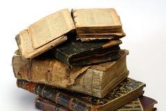 gammal klosterbroder för bok Royaltyfria Bilder