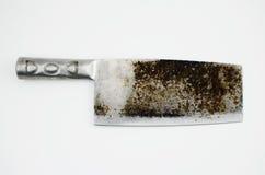 Gammal kniv Arkivfoto
