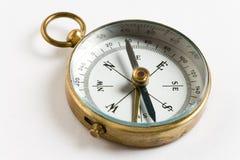 gammal kompass Arkivfoto