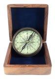 gammal kompass royaltyfria foton