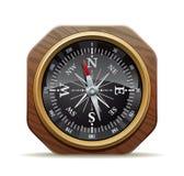 Gammal kompass Fotografering för Bildbyråer