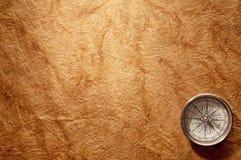gammal kompass Royaltyfria Bilder