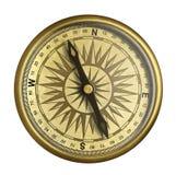 Gammal kompass isolerad illustration 3d stock illustrationer