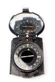 gammal kompassmilitär Arkivfoto