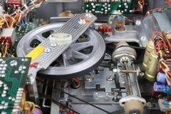 Gammal komplex mekanism Arkivbilder