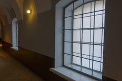 gammal korridor arkivbild