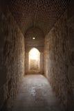 Gammal korridor Royaltyfri Fotografi