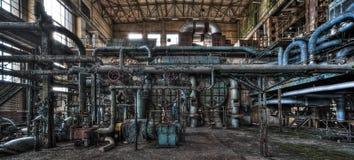 Gammal kraftverk arkivbilder