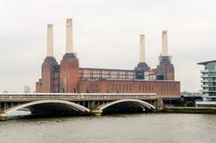 Gammal kraftverk Royaltyfria Foton