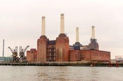 Gammal kraftverk Royaltyfria Bilder