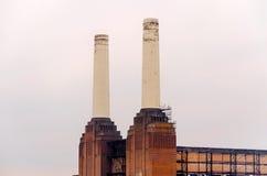Gammal kraftverk Arkivfoton