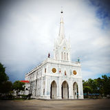 Gammal kristenkyrka Royaltyfri Fotografi