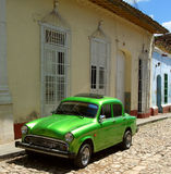 gammal kubansk maskin Royaltyfria Bilder