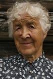 gammal kvinna Royaltyfri Fotografi