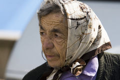 gammal kvinna Royaltyfri Foto