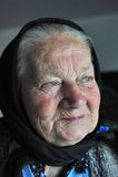 gammal kvinna Arkivfoton
