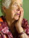 gammal kvinna Royaltyfria Bilder