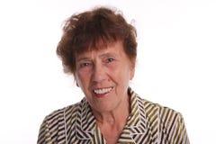 gammal kvinna för lycka royaltyfria foton
