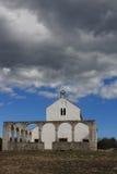 Gammal kyrka fotografering för bildbyråer