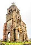 Gammal kyrka arkivbild