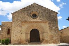 Gammal kyrka av Andalusia Spanien Arkivfoton