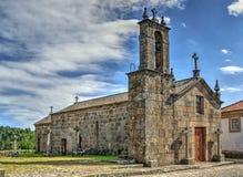 Gammal kyrka av Sanfins de Ferreira Arkivbild
