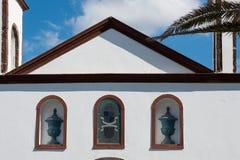 Gammal kyrka i Agaete Royaltyfria Bilder