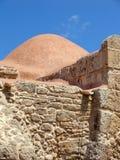 Gammal kyrka i den Sardinia ön, Italien Arkivfoto