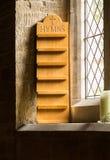 Gammal kyrka i det Cotswold området av England Fotografering för Bildbyråer