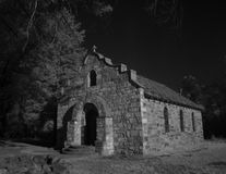 Gammal kyrka i fortet Stanton, NM Royaltyfria Foton