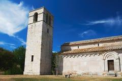 Gammal kyrka i Italien Arkivfoton