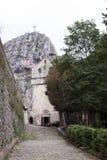 Gammal kyrka i Italien Arkivbilder