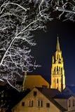 Gammal kyrka i Polen Royaltyfri Fotografi