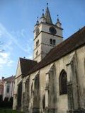 """Gammal kyrka i Rumänien †""""Trasylvania 2 Arkivbild"""