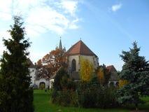 """Gammal kyrka i Rumänien †""""Trasylvania 9 Royaltyfri Foto"""