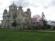 Gammal kyrka i Rumänien 5 Fotografering för Bildbyråer