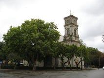 Gammal kyrka i Rumänien 1011 royaltyfria bilder