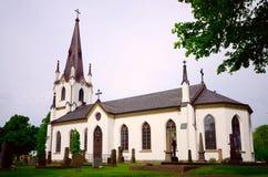 Gammal kyrka i Sverige Royaltyfri Fotografi