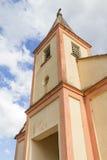 Gammal kyrka i Venancio Aires Arkivfoto
